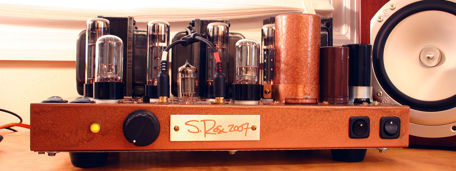Vacuum Tube Project - EICO HF87 Restoration Project by Sean Rose